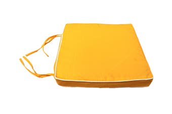 Patio Living Chair Pad - Yellow