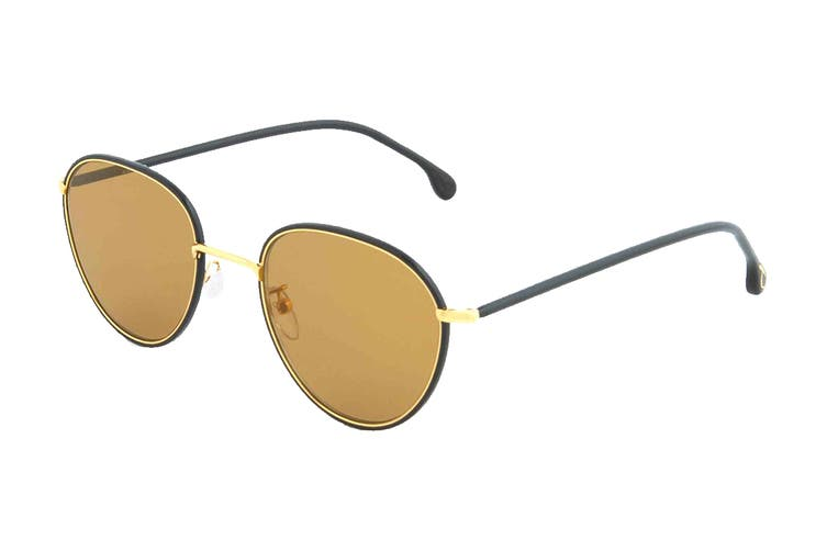 Paul Smith ALBION Sunglasses (Black Ink, Size 53-21-145) - Brown