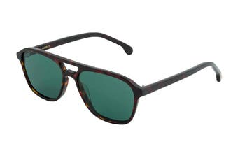 Paul Smith ALDER Sunglasses (Deep Tortoise, Size 55-14-175) - Green