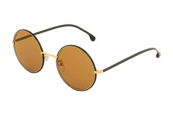 Paul Smith ALFORD Sunglasses (Black Ink/Gold, Size 51-21-145) - Brown Gradient