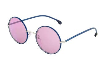Paul Smith ALFORD Sunglasses (Deep Navy/Matte Silver, Size 51-21-145) - Purple