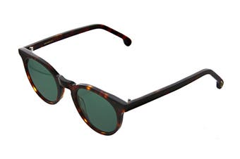 Paul Smith ARCHER Sunglasses (Tortoise, Size 47-22-145) - Green