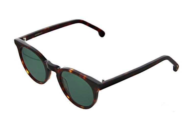 Paul Smith ARCHER Sunglasses (Tortoise, Size 47-22-145) - Green