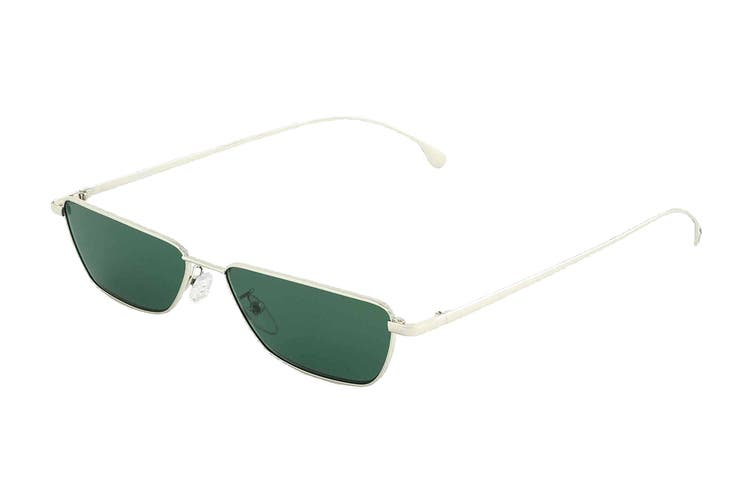 Paul Smith ASKEW Sunglasses (Silver, Size 56-15-145) - Green