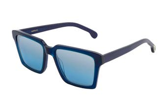 Paul Smith AUSTIN Sunglasses (Peacock/Deep Navy, Size 53-18-145) - Blue