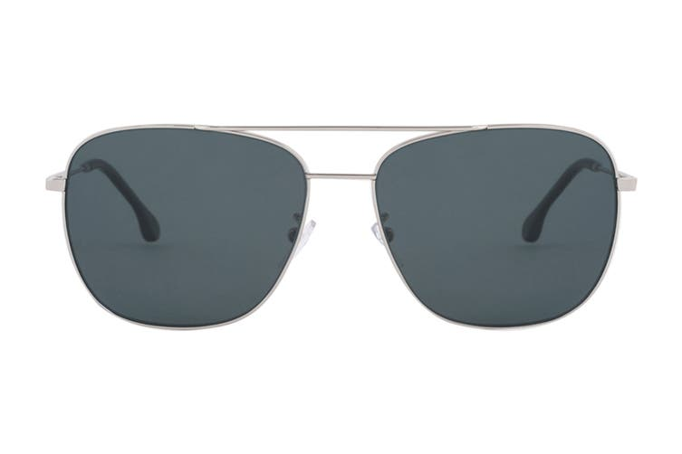Paul Smith AVERY Sunglasses (Silver, Size 58-15-145) - Grey Blue