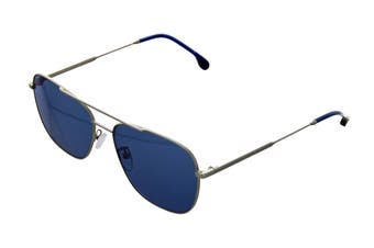 Paul Smith AVERY Sunglasses (Matte Silver, Size 58-15-145) - Blue