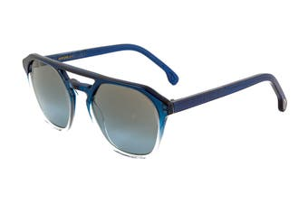 Paul Smith BARFORD Sunglasses (Midnight Crystal, Size 52-22-145) - Grey Blue Gradient