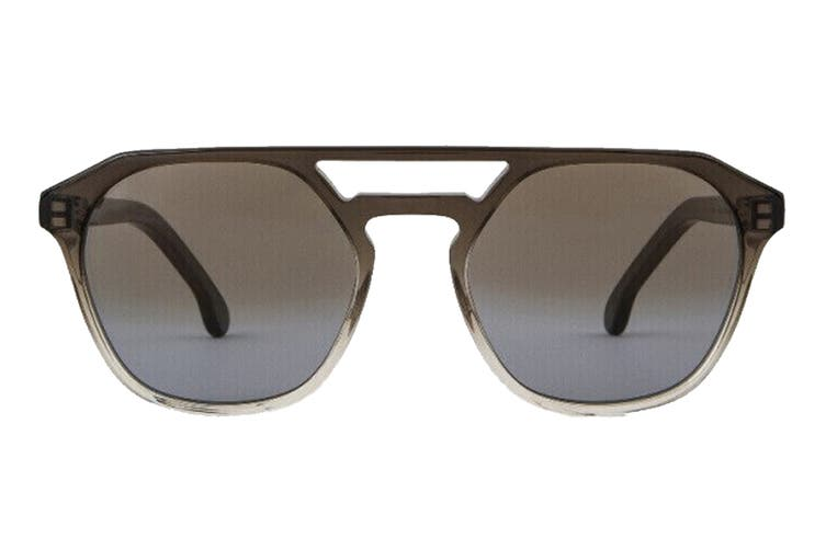Paul Smith BARFORD Sunglasses (Smoke Crystal, Size 52-22-145) - Grey Gradient