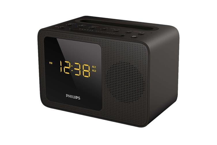 Philips Alarm Clock USB Bluetooth - Black