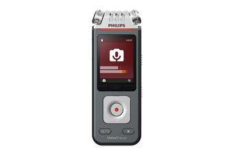 Philips VoiceTracer 8GB 3 Mic Audio Recorder (DVT7110)