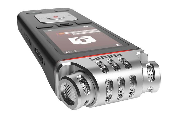 Philips VoiceTracer 8GB 3 Mic Audio Recorder (DVT7110)