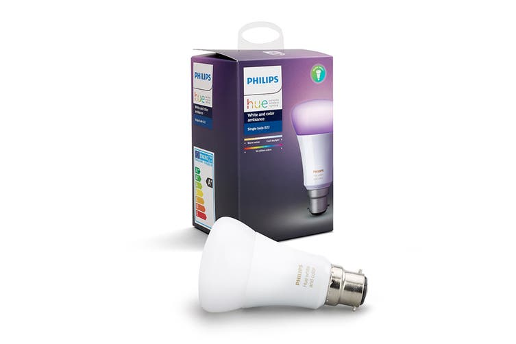 Philips Hue White and Colour Ambiance Single Bulb B22