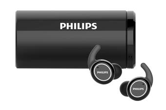 Philips ActionFit True Wireless In-Ear Headphones Black (TAST702)