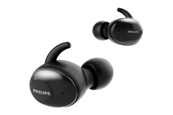 Philips Upbeat True Wireless In-Ear Headphones Black (TAT3255)