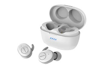 Philips Upbeat True Wireless In-Ear Headphones White (TAT3255)