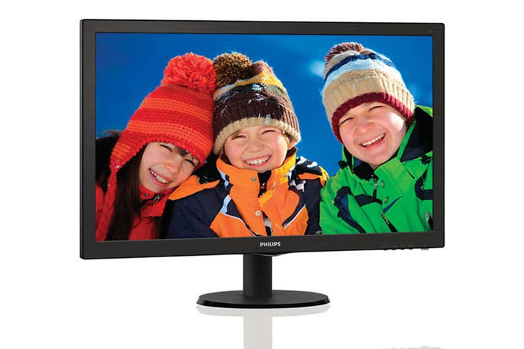 """Philips 27"""" Full HD 1920x1080 LED Monitor with Speakers (273V5LHAB)"""