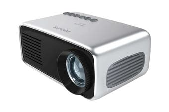 "Philips Start+ 60"" LED LCD Mini Projector with Built-In Speaker & Integrated Speaker (NPX245)"