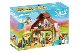 Playmobil Spirit: Riding Free Barn & Warehouse