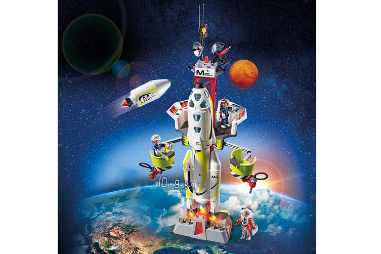 Playmobil Space Mission Rocket Playset