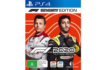 F1 2020 Seventy Edition (PlayStation 4)