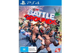 WWE 2K Battlegrounds (PS4)