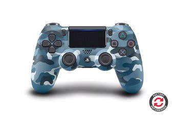 PlayStation Dualshock 4 Controller (Blue Camoflage, Refurbished)