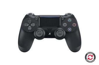 PlayStation Dualshock 4 Controller (Black, Refurbished)