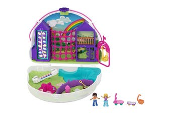 Polly Pocket Polly & Shani Rainbow Dream Wearable Purse