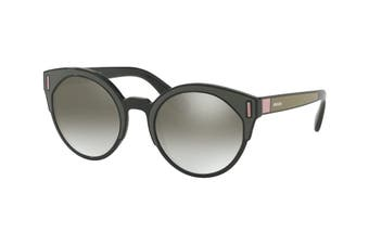 Prada 0PR03US Sunglasses (Black/Brown/Pink) - Grey