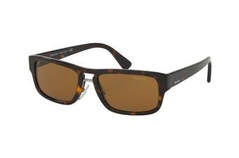 Prada 0PR05VS Sunglasses (Brown Havana) - Brown