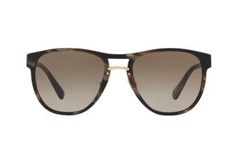Prada 0PR09US Sunglasses (Brown Dark Horn) - Brown Gradient