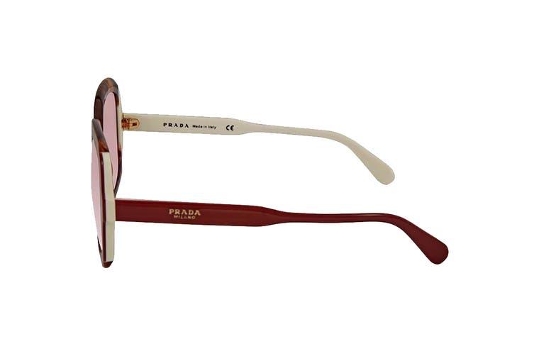 Prada 0PR16US Sunglasses (Pink Havana) - Purple Brown