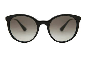 Prada 0PR17SS Sunglasses (Black) - Grey Gradient