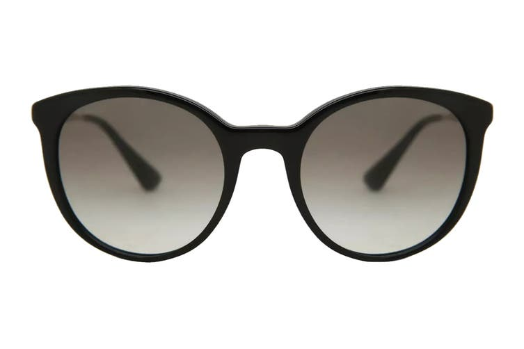 Prada 0PR17SS Sunglasses (Black) - Grey Gradient
