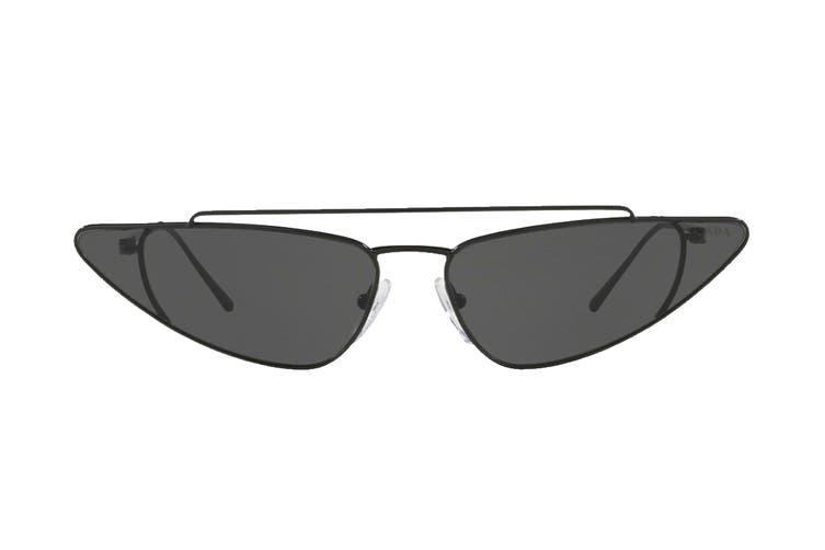 Prada 0PR63US Sunglasses (Black) - Grey