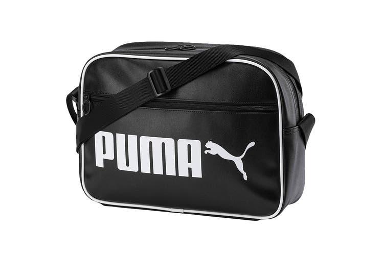 Puma Unisex Campus Reporter Retro (Black)
