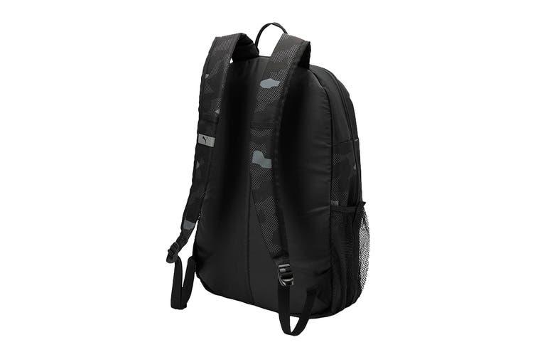 Puma Unisex Style Backpack (Black-Camo AOP)