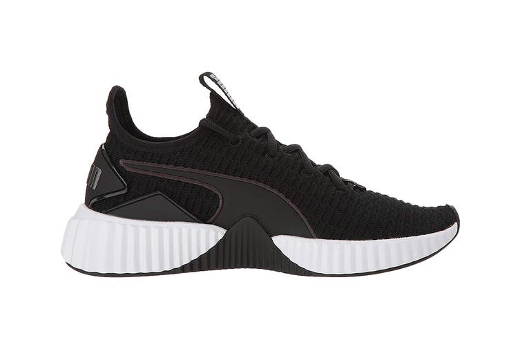 PUMA Women's Defy Shoe (Black, Size 6.5)