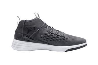 PUMA Men's Mantra FUSEFIT Shoe (Iron Gate/White)