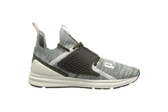 PUMA Men's IGNITE Limitless 2 evoKNIT Laur Shoe (White/Green, Size 10.5)
