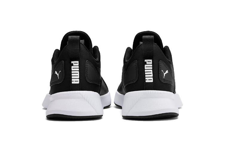Puma Boys' Flyer Runner Junior Shoe (Puma Black-Puma White, Size 4C US)
