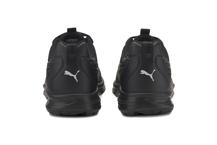 Puma Men's Escalate Shoe (Puma Black-Puma White, Size 12)