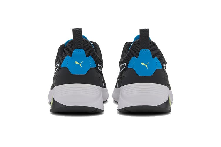 Puma Men's LQDCELL Method Shoe (Puma Black-Nrgy Blue-Fizzy Yellow, Size 9.5)