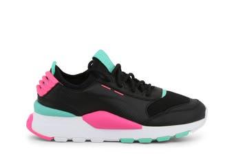 PUMA Women's RS-0 SOUND Shoe (Black/White/Pink, Size 6.5)