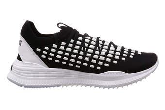 PUMA Men's AVID FUSEFIT Shoe (Black/White, Size 10.5)