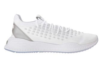 PUMA Men's AVID FUSEFIT Shoe (White/Silver, Size 10.5)