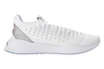 PUMA Men's AVID FUSEFIT Shoe (White/Silver)