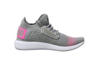 PUMA Women's Uprise Color Shift Shoe (Quarry/Knockout Pink, Size 5.5)