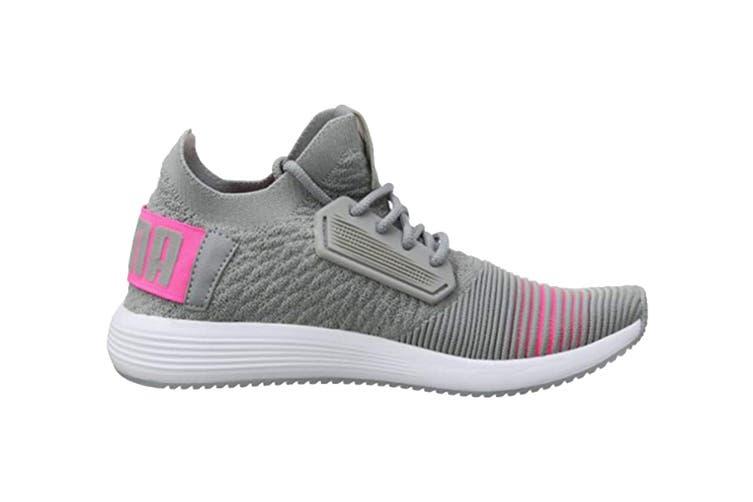 PUMA Women's Uprise Color Shift Shoe (Quarry/Knockout Pink, Size 7)